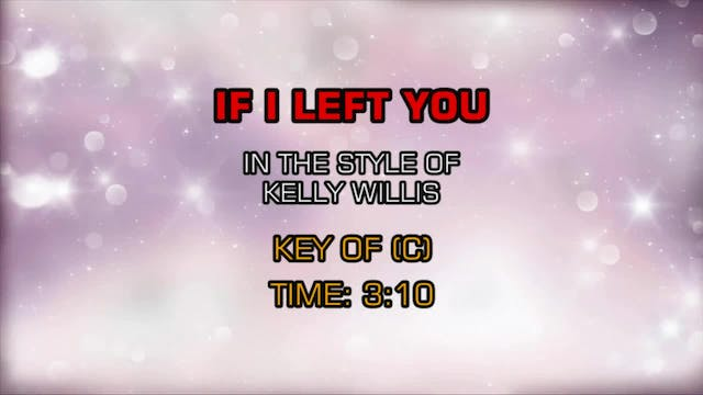 Kelly Willis - If I Left You