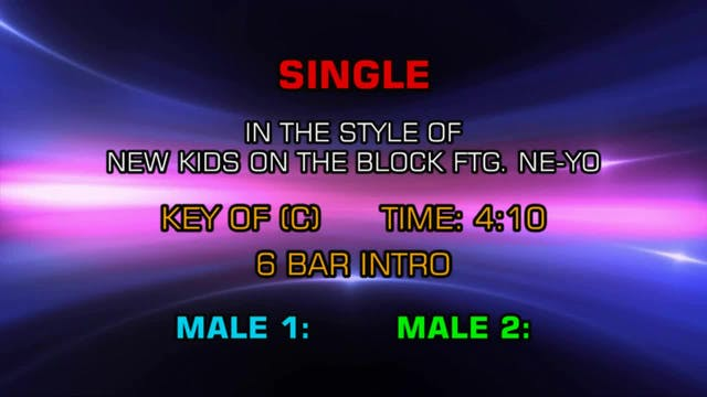 New Kids On The Block - Single