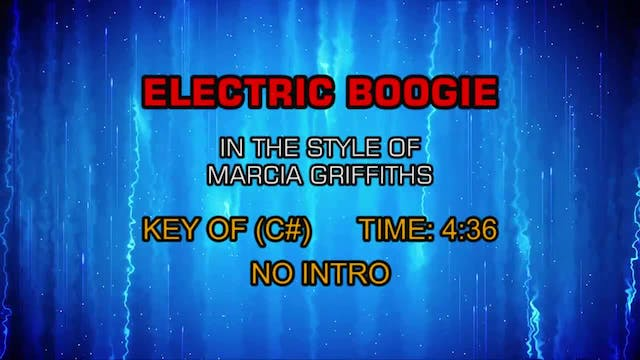 Marcia Griffiths - Electric Boogie