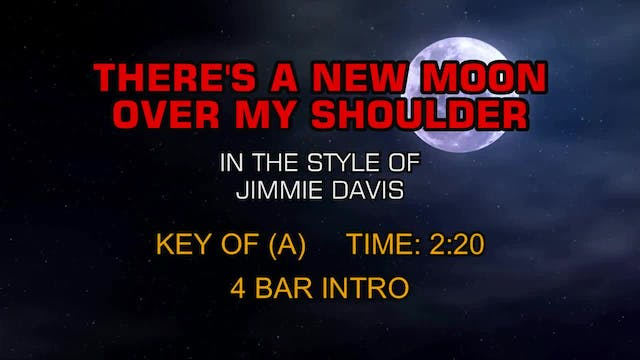 Jimmie Davis - There's A New Moon Ove...