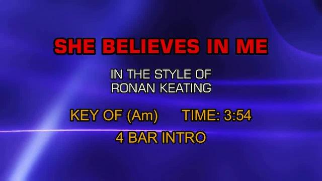 Ronan Keating - She Believes In Me