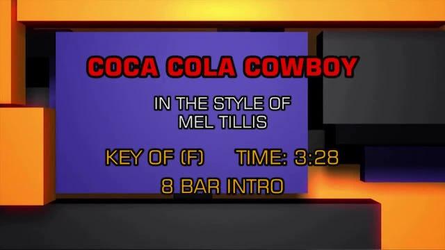 Mel Tillis - Coca Cola Cowboy