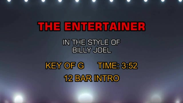 Billy Joel - Entertainer, The