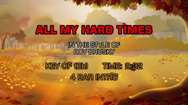 Roy Drusky - All My Hard Times
