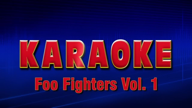 Lightning Round Karaoke - Foo Fighters Vol. 1