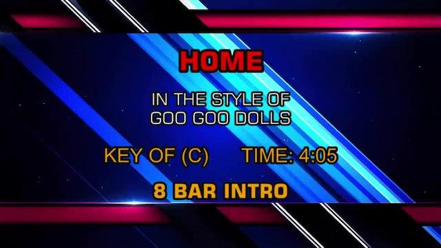 Goo Goo Dolls - Home