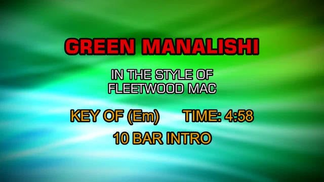 Fleetwood Mac - Green Manalishi