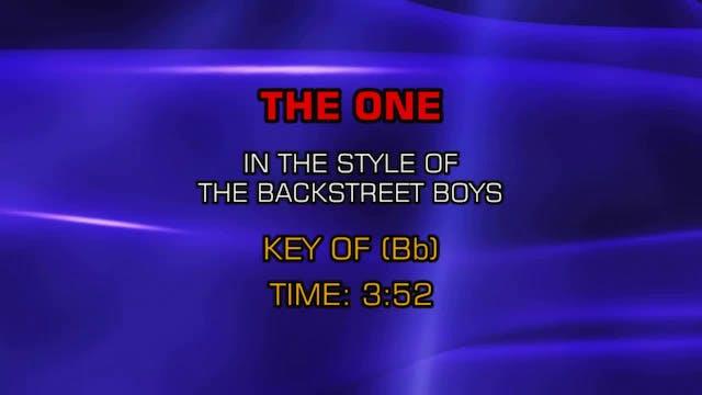 Backstreet Boys - One, The