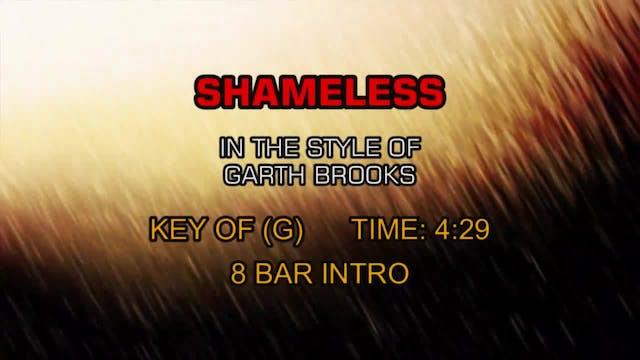 Garth Brooks - Shameless