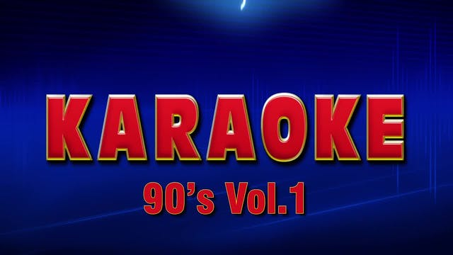 Lightning Round Karaoke - 1990's Vol. 1