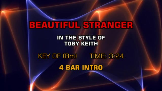 Toby Keith - Beautiful Stranger