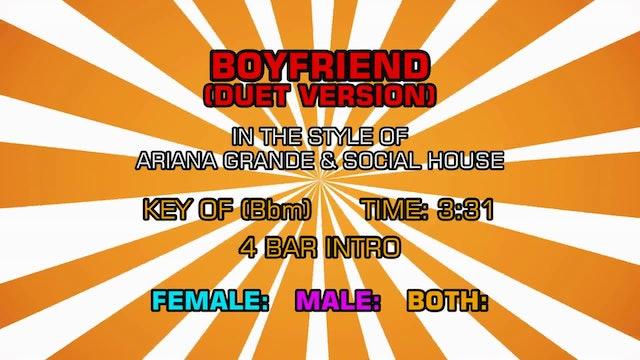 Ariana Grande & Social House - Boyfriend (Duet Version)