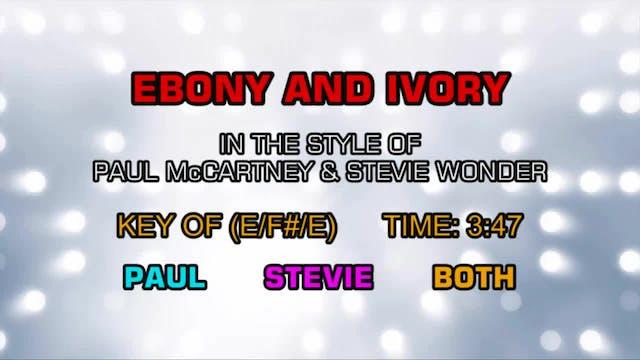 Paul McCartney & Stevie Wonder - Ebon...