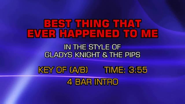 Gladys Knight And The Pips - Best Thi...