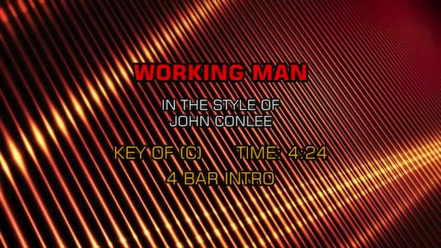 John Conlee - Working Man