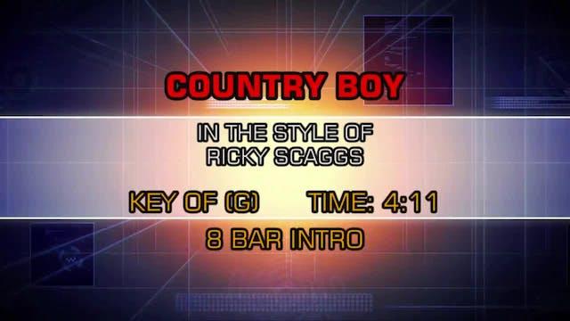 Ricky Skaggs - Country Boy