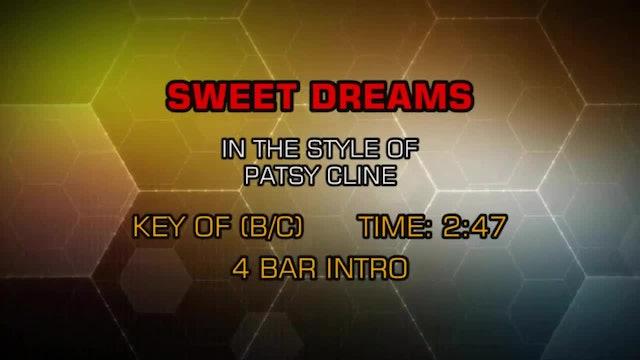 Patsy Cline - Sweet Dreams
