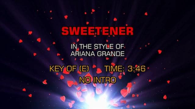 Ariana Grande -  Sweetner