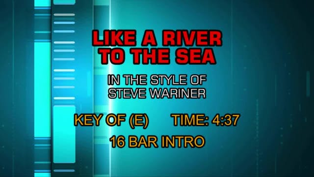 Steve Wariner - Like A River To The Sea