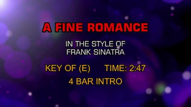 Frank Sinatra - A Fine Romance