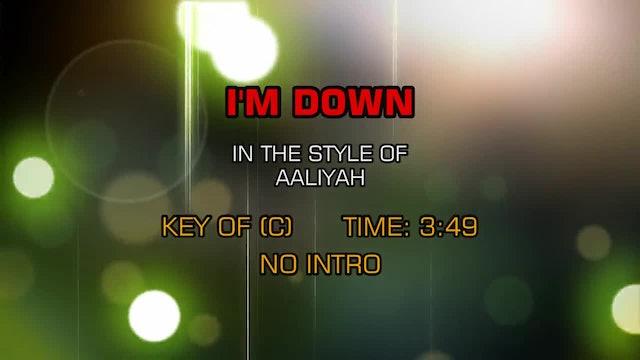 Aaliyah - I'm Down