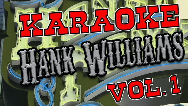 Hank Williams Vol. 1