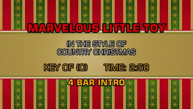 Country Christmas - Marvelous Little Toy