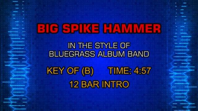 The Bluegrass Album Band - Big Spike Hammer