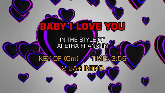 Aretha Franklin - Baby I Love You