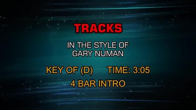 Gary Numan - Tracks