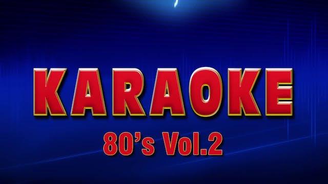 Lightning Round Karaoke - 1980's Vol. 2
