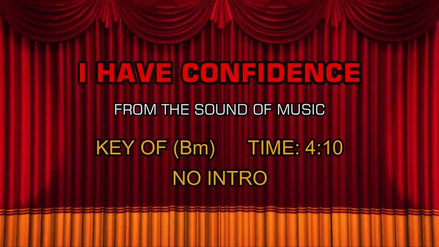 The Sound of Music - I Have Confidence