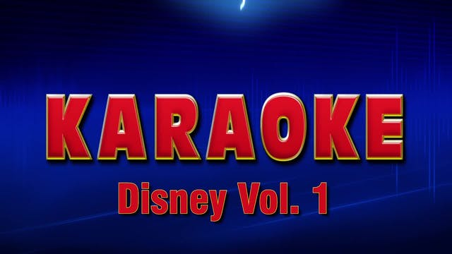 Lightning Round Karaoke - Disney Vol. 1