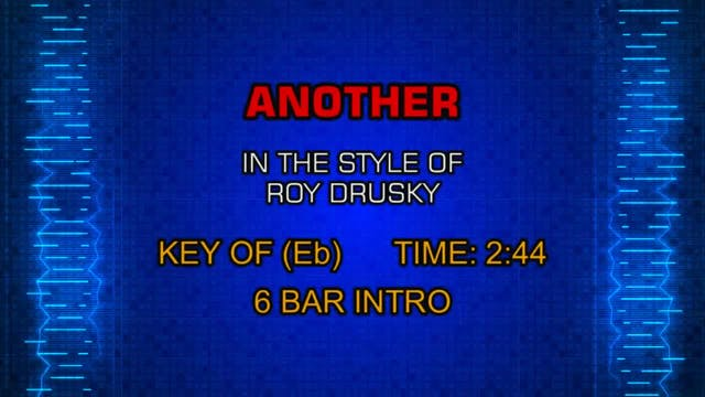Roy Drusky - Another