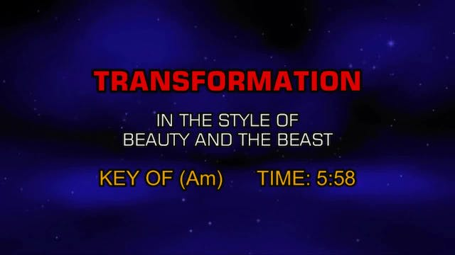 Beauty And The Beast - Transformation