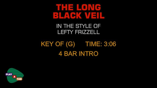 Lefty Frizzell - The Long Black Veil ...