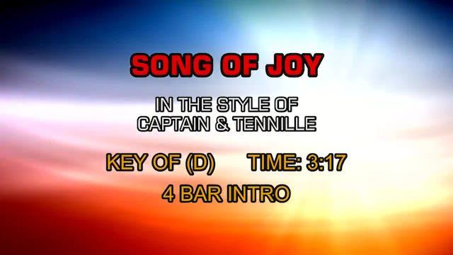 Captain & Tennille - Song Of Joy