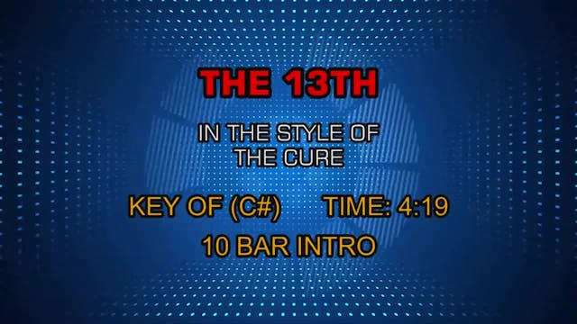 The Cure - The 13th