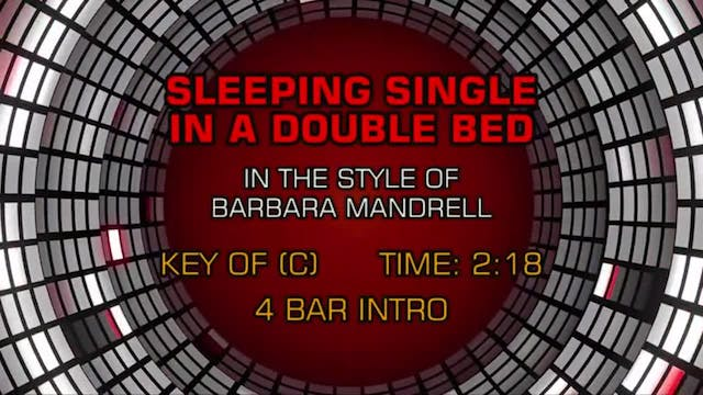Barbara Mandrell - Sleeping Single In...