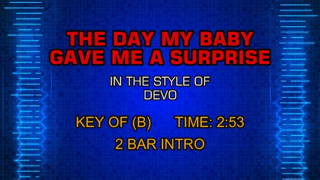 Devo - Day My Baby Gave Me A Surprise, The