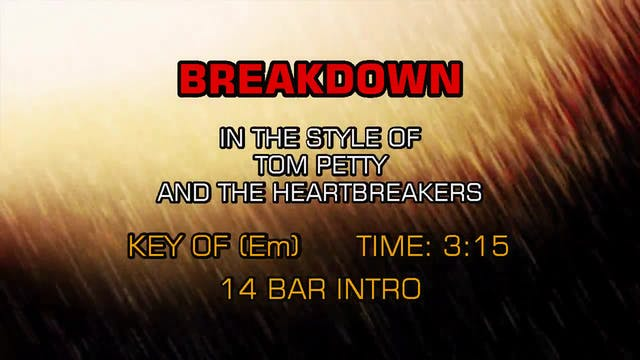 Tom Petty And The Heartbreakers - Bre...