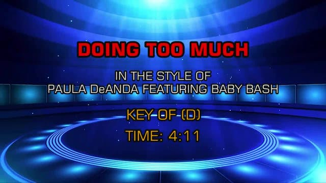 Paula DeAnda ftg. Baby Bash - Doing T...