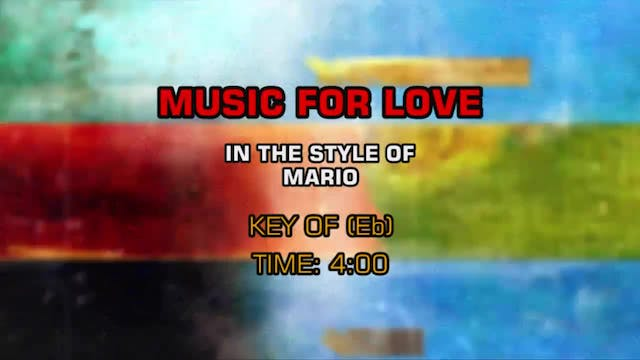 Mario - Music For Love