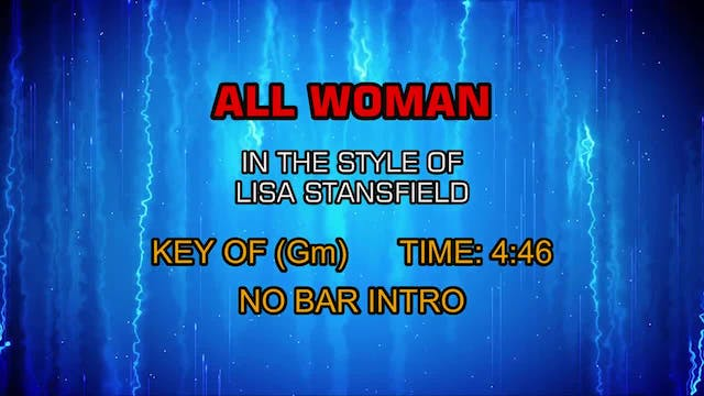 Lisa Stansfield - All Woman