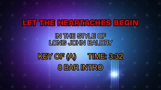 Long John Baldry - Let The Heartaches...