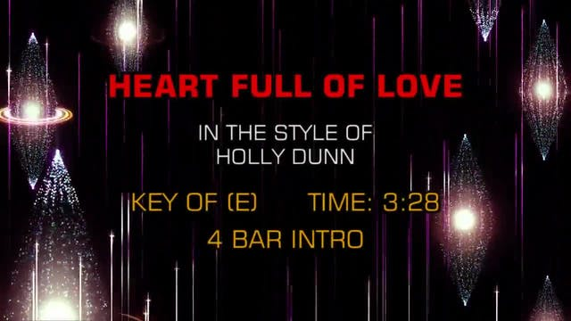 Holly Dunn - Heart Full Of Love