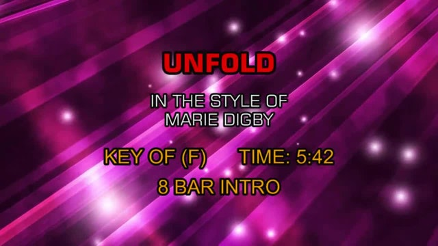 Marie Digby - Unfold