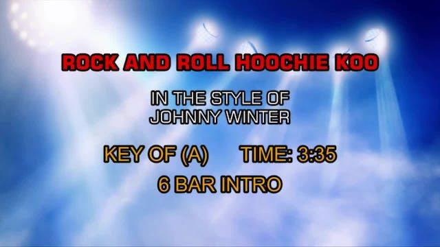 Johnny Winter - Rock And Roll, Hoochi...