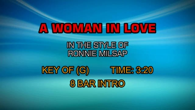 Ronnie Milsap - A Woman In Love
