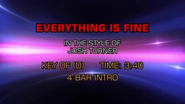 Joshua Turner - Everything Is Fine